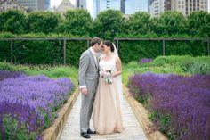 Real Wedding: Carol Hannah Kensington and custom lace