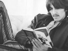 George Harrison/Bob Dylan Celebrities reading about celebrities. VISIT FOR MORE George Harrison/Bob Dylan Celebrities reading about celebrities. The post George Harrison/Bob Dylan Celebrities reading about celebrities. appeared first on Celebrities. George Harrison, George Lee, Ringo Starr, John Lennon, Barbara Bach, Good Books, Books To Read, Reading Books, Actor