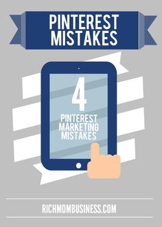 Pin now - view later Best pinterest marketing tutorial If your business wants to rule Pinterest with the #pinterest #marketing, make sure you aren't making these 4 pinterest marketing mistakes.