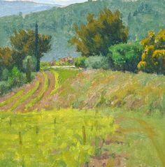 "Below Suzette Oil on canvas, 12"" x 12"" Ian Roberts"