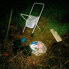 Glenn Sloggett Untitled (Pram), 2001 from Lost Man