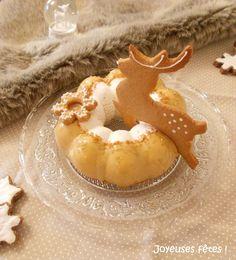 Entremet renne poire caramel - Foodista Challenge #26