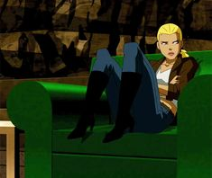 bored (Artemis, Young Justice)