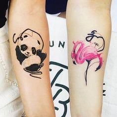 Vamos compensar a ausência do feriado com esse trampo show do turco @tayfunbezgin  #tattoo #ink #tattoaria #artwork #art #tatuagem #watercolor #aquarela #aquarelatattoo #watercolortattoo by tattoaria_oficial