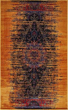 Unique Loom 3133330 Area Rug, 5 x 8, Multicolored -- Check this awesome product by going to the link at the image. (This is an affiliate link) #UsefulHomeDecor