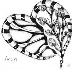 heart Zentagle