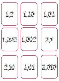 Battle of decimal numbers School fairy Montessori Math, Montessori Elementary, Math 5, Teaching Math, Math For Kids, Activities For Kids, Cycle 3, School Levels, Skills To Learn