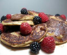 With almond flour and coconut flour, these paleo pancakes are healthy, delicious and satisfying.