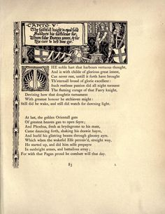 Spenser's Faerie queene. A poem in six books; with the fragment Mutabilitie. Ed. by Thomas J. Wise, pictured by Walter Crane : Spenser, Edmund, 1552?-1599 : Free Download, Borrow, and Streaming : Internet Archive British Press, Walter Crane, University Of Toronto, Junk Journal, Faeries, The Borrowers, Illustrators, The Cure, Poems