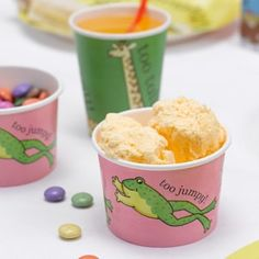 Dear Zoo Party Ice Cream Tubs.  More available at www.dazzle.uk.com