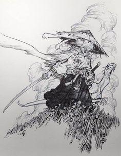 Usagi Yojimbo by Eric Canete * - Art Vault