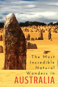 The Most Incredible, Awe-Inspiring Natural Wonders in Australia: Eight stunning natural wonders of Australia. From the well known Great Barrier Reef, to the lesser known Blue Mountains, don't miss out on all the natural beauty Australia has to offer. Click her to find out what natural beauties you should visit on a trip to Australia!