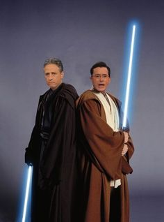 Jon Stewart, AND Stephen Colbert