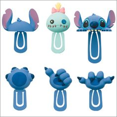 Disney Lilo & Stitch mini Figure Bookmark clip - omg yes Lilo And Stitch 3, Stitch And Angel, Disney And More, Disney Love, Lelo And Stich, 626 Stitch, Ohana Means Family, Minions, Disney Merchandise