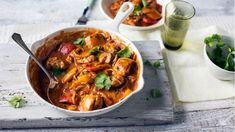 Chicken and vegetable balti recipe - BBC Food