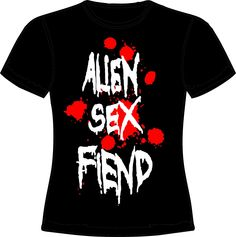 knupSilk - ESTAMPARIA/SERIGRAFIA: Alien SEx Fiend