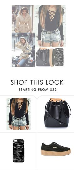 """""""You're my favorite song, plug into you plug into you..."""" by l0ver-f0rever ❤ liked on Polyvore featuring Alexandre Vauthier, N°21, Mr. Gugu & Miss Go and Puma"""