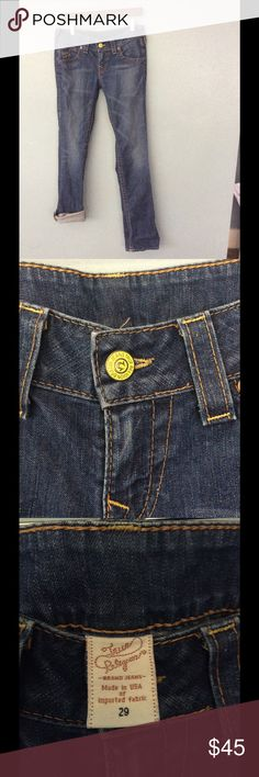 True Religion Jeans True Religion medium wash jean #truereligionjeans True Religion Jeans Straight Leg