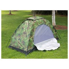 Single Person C&ing Tent Camouflage Military Ultra-light UV-protective Waterproof Mountain Climbing Hunting  sc 1 st  Pinterest & $89.5 Best Lightweight 2 Person 4 Season Tent Best Value Double ...