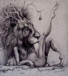 Lion Ballerina by Adonna Khare.