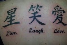 Image result for chinese tattoos and meanings