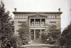 Berlin, Villa Bleichröder am Knie, o.P., um 1875.