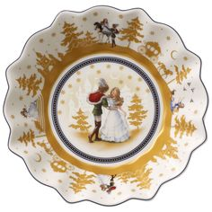 Annual Christmas Edition Small Bowl : 2014 6 1/4 in - Villeroy & Boch