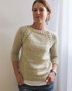If I ever overcome my fear of cables... Ravelry: UandIKnit's Coda Codaby Olga Buraya-Kefelian ($8)