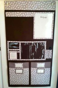 Thirty One hanging organizer - We have one of these hung in the kitchen and it is a lifesaver!!