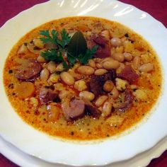 Winter Soups, Hungarian Recipes, Chicken Noodle Soup, Slow Cooker Soup, Healthy Soup Recipes, Chana Masala, Stew, Food And Drink, Dishes