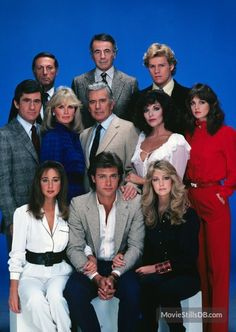 Dynasty promo shot of Heather Locklear, Joan Collins and others