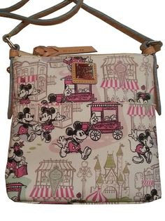 Disney Dooney and Bourke Bag - Downtown Mickey - Letter Carrier