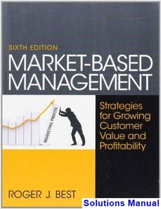 Marketing core 6th edition books pinterest business marketing market based management 6th edition roger best solutions manual test bank solutions manual fandeluxe Choice Image