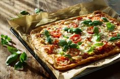 The Pioneer Woman's Shortcut Puff Pastry Pizza: This quick and easy pizza recipe is perfect for entertaining guests.