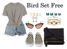 """""""Bird Set Free"""" by anaelle2 ❤ liked on Polyvore featuring Tom Ford, Vans, Levi's, Givenchy, Cartier, Rebecca Taylor, Christian Dior, Maison Margiela and Hirotaka"""