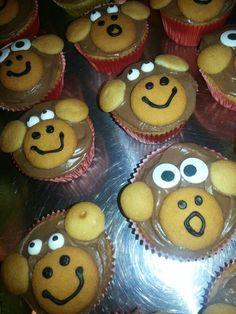 Monkey cupcakes for Theo's bday!  10/13