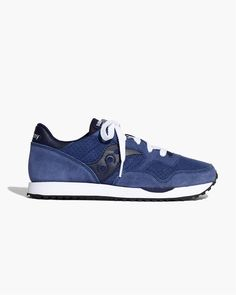 7981408894 Madewell x Saucony® dxn Trainer Sneakers in navy.  wellheeled Navy Blue  Sneakers