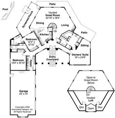 V Shaped House Plans Floor Plans Pinterest House Smallest
