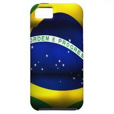 Brazil Flag Iphone 5 Case-Mate Case