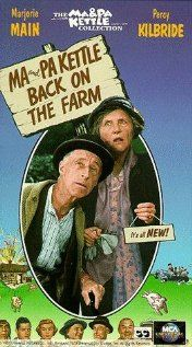 """Ma & Pa Kettle!  Gold, great acting and just plain old fashioned fun.  As a kid even though I was born in the 60's would bust my neck to stay home to watch these movies if I spotted them on  the TV guide.  I am pretty sure my mum worked it out.  Me laying back on our faux green velvet couch with fresh white bread """"Vegemite"""" sandwiches with the crust cut off and flat lemonade.  I was in heaven."""