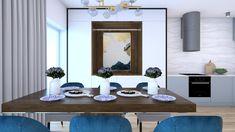 Náš nový projekt domu na Kolibe je kombináciou obľúbenej modrej, dvoch dekorov dreva, mramoru a zlatých doplnkov. Zadaním majiteľov bolo, aby dýchal eleganciou, nadčasovými prvkami, ale bol aj funkčný a praktický s množstvom úložného priestoru. #avedesign #interiordesign #bratislava #koliba #interierovydizajn #interior #interierovydesigner #interierovydizajnslovensko #interiorismo #interior123 #interiorstyling #vizualization #render #navrhinterieru #slovakarchitecture #architecture #designideas Dining Table, Furniture, Home Decor, Decoration Home, Room Decor, Dinner Table, Home Furnishings, Dining Room Table, Home Interior Design