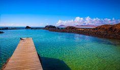Isla de Lobos, Fuerteventura, Islas Canarias, Spain.