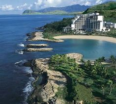 Ko'Olina, JW Marriot Oahu.  This is where we were for 7 days in February :)