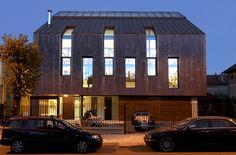 Casa din cupru   arhitect Radu Teaca   Sibiu