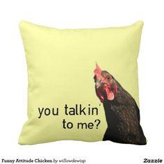 Funny Attitude Chicken