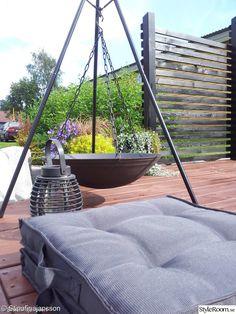 trädgård,altan,svart,växthus,soldäck