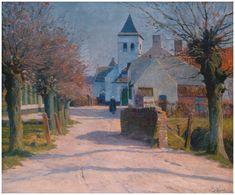 E. Viérin - The Church of Vichte (1896)