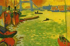 André Derain : La Tamise et Tower Bridge