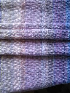 Organic Ombre Baby Blanket handwoven with Eco Fibers by Nada Sameheart. #brownbearstudio #AmandaBrown