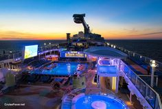 Royal Caribbean's Quantum of the Seas was voted the best new #cruise ship in the 2014 Cruise Fever Fan Awards.